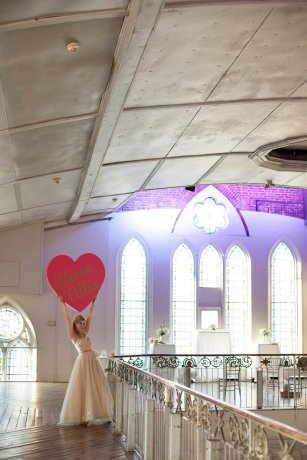 Photo Credit: Sweetheartempire.com, Heart by Katherine Morley, Location: Berkeley Church, Toronto.