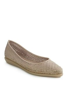 The espadrille; great concept. However, I've never managed to find one that was both attractive and comfortable. This one looks like it might fit the bill.