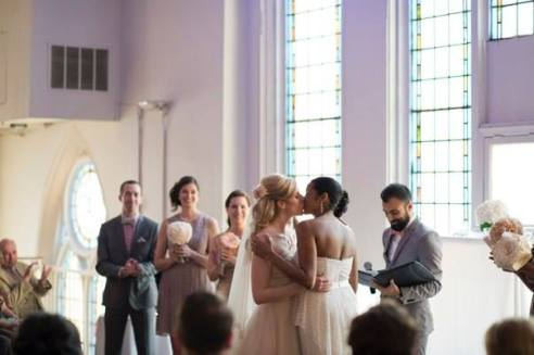 And the palette worked out perfectly, even with our bridal party, who all wore different variations of our colour scheme. Timeless, but so now. I love these photos as much a year later as I did on the day. But, I'm biased.