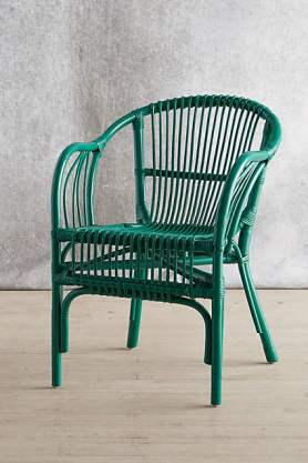 Anthro's Pari Rattan Chair $98.00. Why pay more?