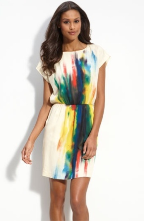 After the sun and showers, comes the rainbow. Found on shop.nordstrom.com