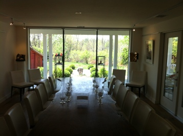 The inside of the winery was also open for tastings.