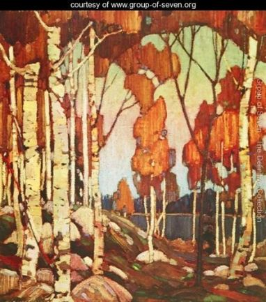 Tom Thomson - The namesake painter of my elementary school.