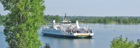 The Wolfe Islander Ferry