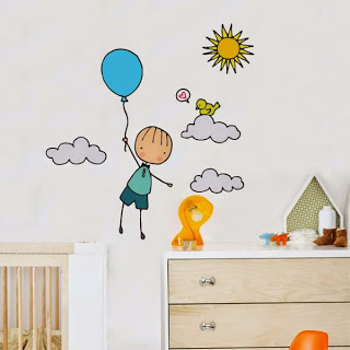 Sweet wall decals.